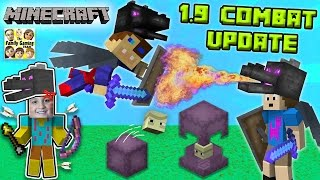 ENDER FIGHTERS? WHAT THE SHULKER? Minecraft 1.9 Combat Update!  (FGTEEV Dad vs. Sons Battle)