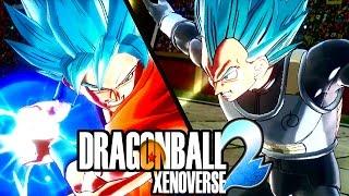 LA FURIA DI GOKU E VEGETA SUPER SAIYAN BLU! Dragon Ball Xenoverse 2 Goku SSGSS ITA