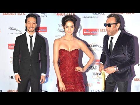 Xxx Mp4 Tiger Shroff Girlfriend Disha Patani TOGETHER With Jackie Shroff At Filmfare Style Awards 3gp Sex
