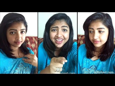 Tamil cute girl Sindhuja  /kovaisarala New  Dubsmash Video /After a long gap