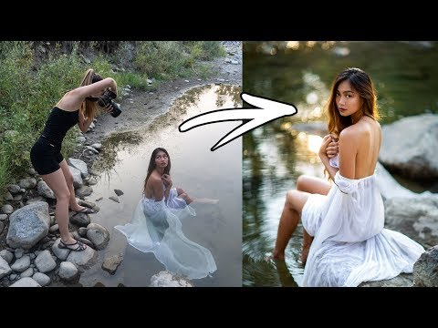 Xxx Mp4 River PhotoShoot Behind The Scenes How I Take Natural Light Portraits 3gp Sex