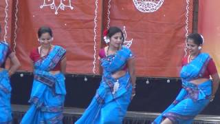 Cary Diwali 2014 - Rangobati Folk Song Dance