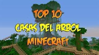 TOP 10 CASAS DEL ÁRBOL | MINECRAFT | Construcciones | Las mejores casas épicas de Tarzán!