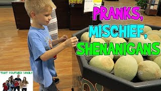 PRANKS, MISCHIEF AND SHENANIGANS / That YouTub3 Family