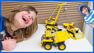 Dump Truck Lego Technic Timelapse