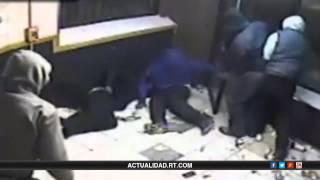 Impactante video de un delincuente disparando a sangre fría contra una tienda