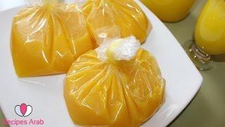 تحضير مركز عصير البرتقال والحامض سهل ورااااااائع