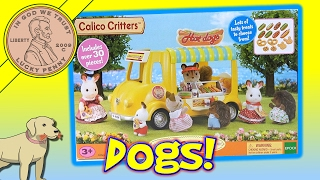 Calico Critters Hot Dog Van - Play Time With Butch!