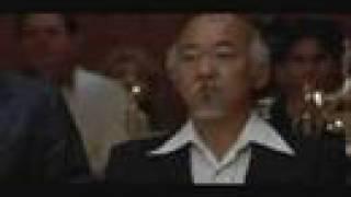 The Karate Kid final scene