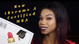 How I Became a Certified Makeup Artist in LESS THAN 24 hours !!!