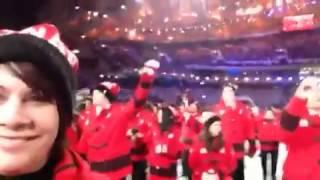 Kathy at Sochi