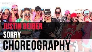 Justin Bieber Sorry OFFICIAL Music Video  Dance Routine Tutorial
