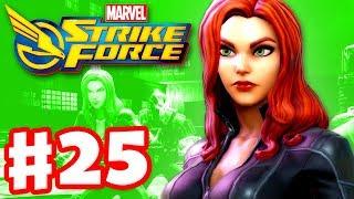 Black Widow! - Marvel Strike Force - Gameplay Walkthrough Part 25