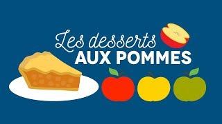 Les desserts aux pommes - Les Carnets de Julie