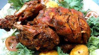 মুরগি মোসাল্লাম রান্নার রেসিপি - Bangladeshi Murgh Musallam Rannar Recipe - Murgi Ranna in Bengli