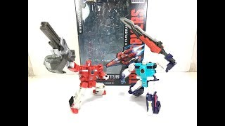 Transformers Titans Return Wingspan and Cloudraker Chefatron Toy Review