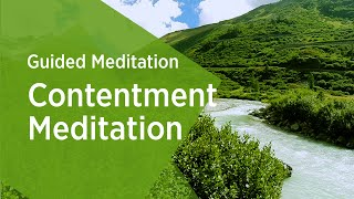Contentment Guided Meditation - Sri Sri Ravi Shankar