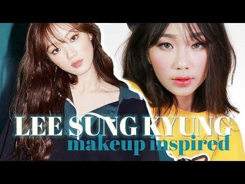 LEE SUNG KYUNG - Inspired Makeup Tutorial | Raiza Contawi