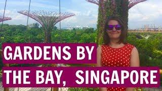 Singapore, Gardens by the Bay : Golden Princess, Asia Cruise VLOG 1. (2018)