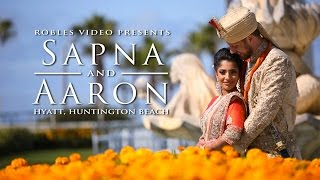 Sapna Satya & Aaron Victor - Cinematic Wedding Highlights (Hindu/South Indian)