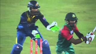 Bangladesh vs Sri Lanka I Asia Cup 2016 I Sabbir Rahman's 80 Runs