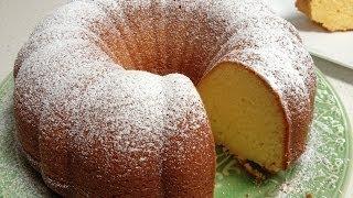 Yoghurt Lemon Cake