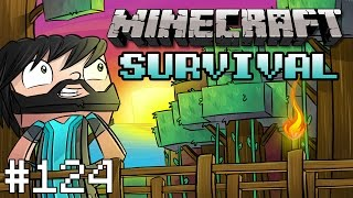 Minecraft : Survival - Part 124 - Banners Rule!