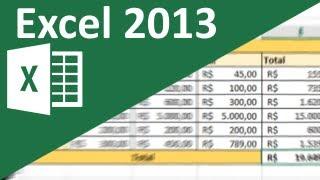 Aula de Excel 2013 - Cálculo entre planilhas
