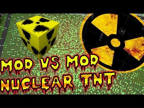 LA MEJOR TNT NUCLEAR MOD VD MOD TOP 5 TNT NUCLEARES MAS DESTRUCTIVAS EN MINECRAFT