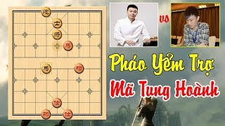 Ván Cờ Tướng Hay Pháo Yểm Trợ Mã Tung Hoành Hứa Ngân Xuyên vs Triệu Điện Vũ