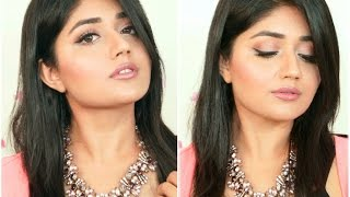 Glossy Pink Makeup Tutorial for Indian Skin | corallista