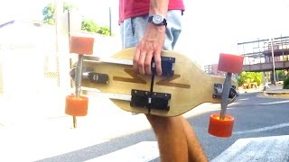 World's First Collapsible Longboard - Lunation Boards