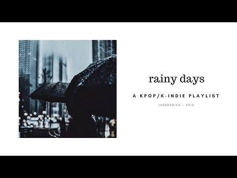 K POP K INDIE PLAYLIST cosy & rainy days