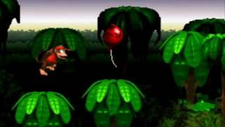 Super Nintendo - Donkey Kong Country (Part 1/40 Jungle Hijinxs!)