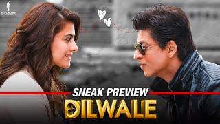 Dilwale Sneak Peek: Kajol, Shah Rukh Khan, Kriti Sanon & Varun Dhawan | A Rohit Shetty Film