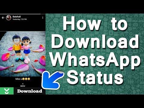 Xxx Mp4 How To Download WhatsApp Status WhatsApp Tricks 3gp Sex