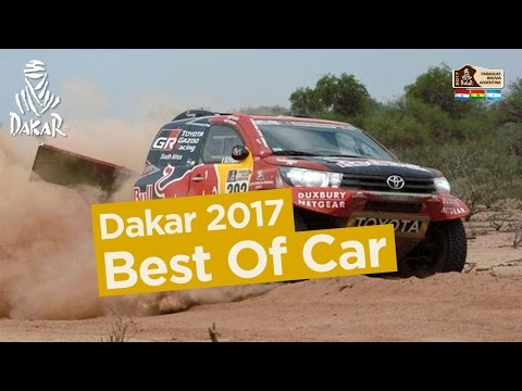 Best Of Car Dakar 2017