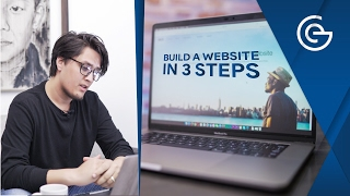 How to make a Website in 3 EASY STEPS!