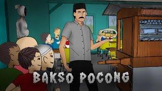 BAKSO POCONG, AWAL MULA BAKSO SETAN | Kartun Animasi Hantu, Cerita Misteri Indonesia - Rizky Riplay