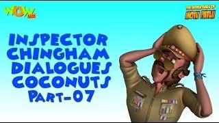 Inspector Chingam Special - Motu Patlu Compilation Part 7 - 45 Minutes of Fun!