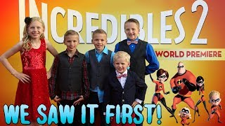 Red Carpet Incredibles 2 World Premiere!!