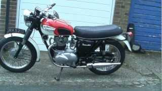 1966 Triumph Tiger 100 update and startup
