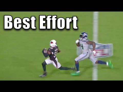 NFL Best Effort Plays