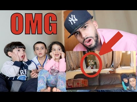 GHOST CAUGHT ON CAMERA IN MY VIDEO!!!