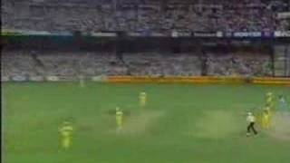 AUSTRALIA vs INDIA, 1991/1992 WSC 2nd FINAL, SCG
