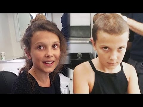 Xxx Mp4 Watch Stranger Things Star Millie Bobby Brown Shave Her Head To Become Eleven 3gp Sex