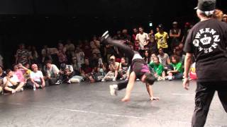 Kill (Gamblerz/korea) vs Eri (keep it real/japan) - Top8 @KAAT STREET DANCE FESTIVAL