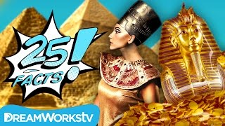 25 Facts About ANCIENT EGYPT | 25 FACTS on Go90
