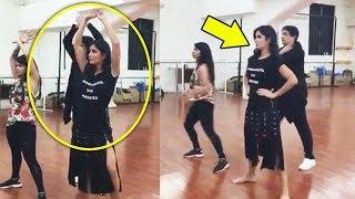 Katrina Kaif's DANCE REHEARSAL With Shiamak Davar