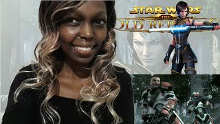 STAR WARS: The Old Republic - 'Hope' Cinematic Trailer Reaction.